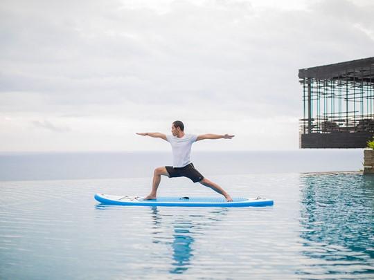 Yoga à l'hôtel