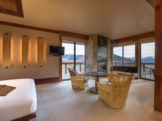 Gros Ventre Suite de l'hôtel Amangani aux Etats Unis