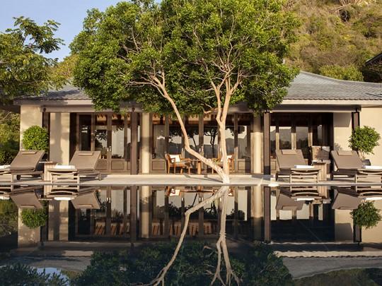 Three Bedroom Villa de l'hôtel Amanoi à Nha Trang