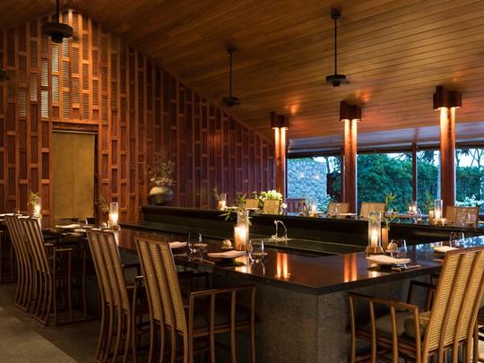 Le restaurant japonais Nama de l'hôtel Amanpuri