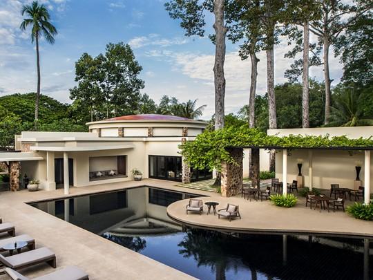 Profitez de la piscine de l'Amansara à Siem Reap