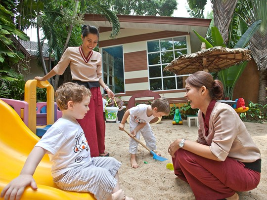 Coin enfants de l'hôtel Anantara Bophut  Resort à Koh Samui
