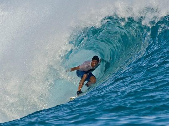 Le paradis des surfeurs