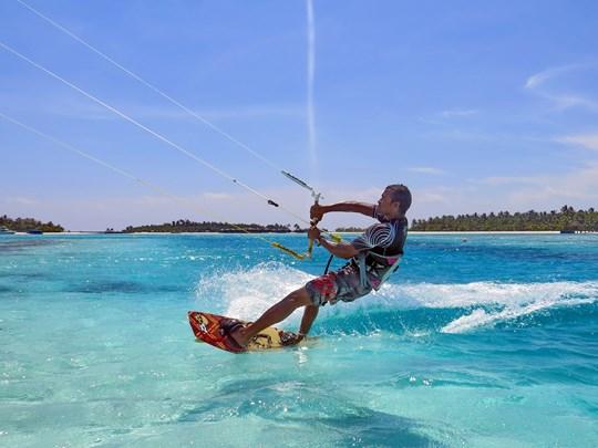 Kite surf à l'hôtel