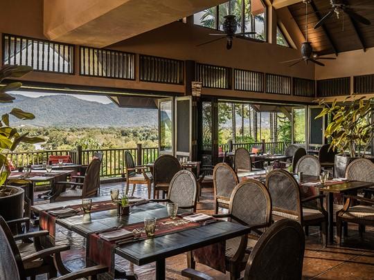 Le restaurant Sala Mae Nam de l'Anantara en Thailande