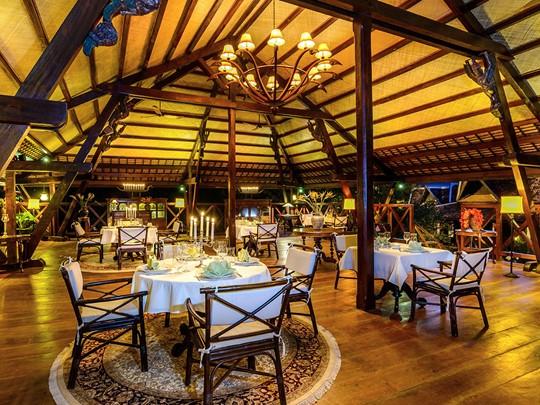 Le restaurant Le Jardin de l'Angkor Village Resort