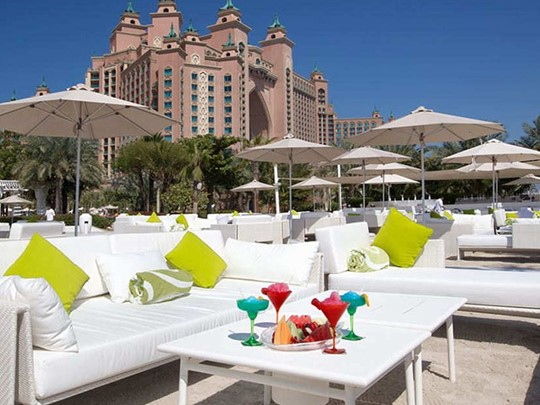 Restaurant Nasimi Beach de l'Atlantis The Palm