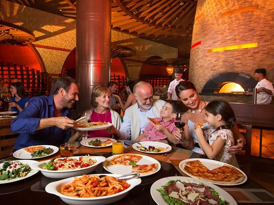 Restaurant Ronda Locatelli de l'Atlantis The Palm