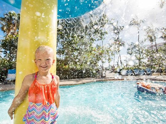 Le resort Atlantis aux Bahamas est un paradis pour les petits