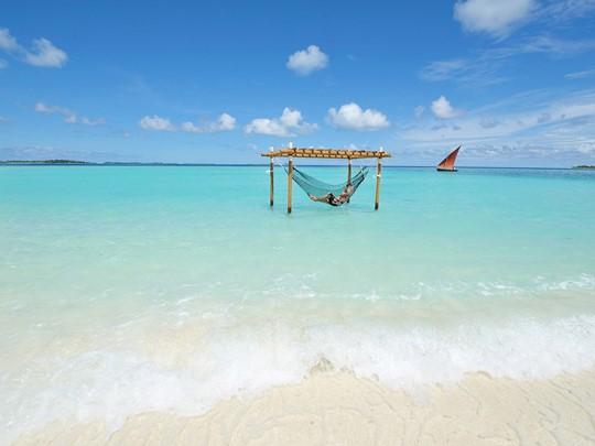 Profitez d'instants de relaxation sur le lagon