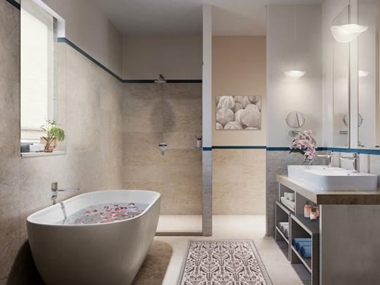 Des salles de bain pour vous détendre (Suite Maddalena)