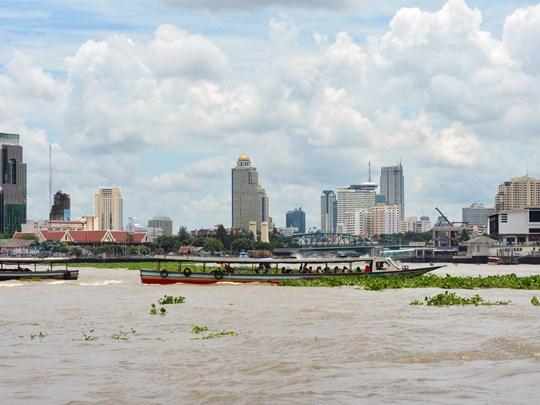 Naviguez sur le Chao Praya et le Grand Canal