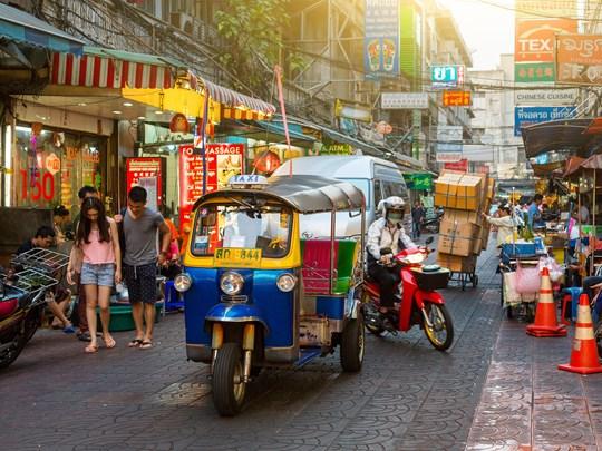 Chinatown, vous visiterez les ruelles de ce quartier