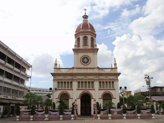 L'église Santa Cruz