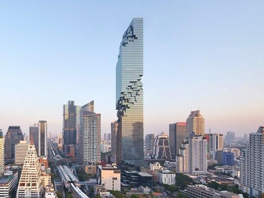 L'emblématique Maha Nakhon Tower