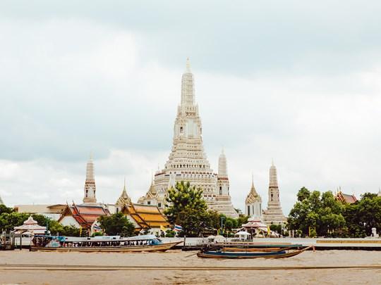 Wat Arun, le temple de l'Aube habillé de céramique