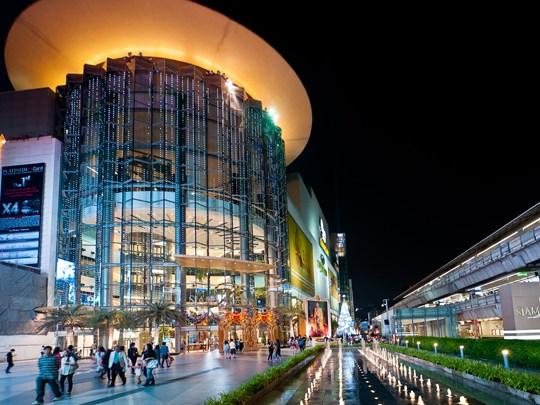 Le grand centre commercial MBK, vous pourrez y faire votre shopping ainsi qu'y déguster des spécialités