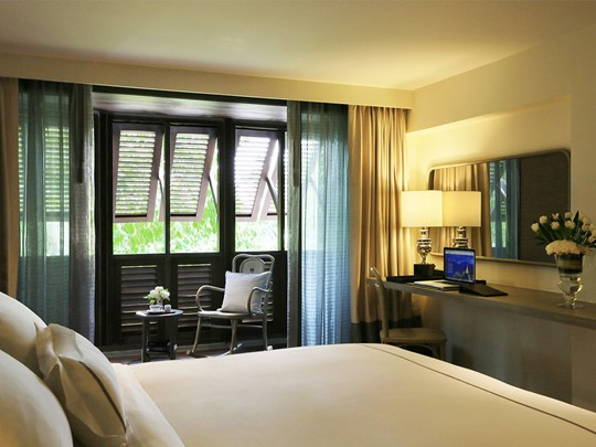 Les chambres Urban à l'hôtel Riva Surya Bangkok