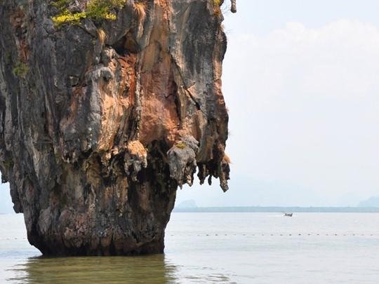 Les roches calcaires de la baie de Phang Nga