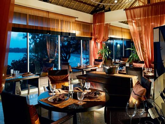 Restaurant Saffron de l'hôtel Banyan Tree