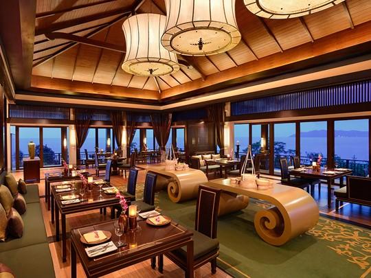 Le restaurant Saffron du Banyan Tree au Vietnam
