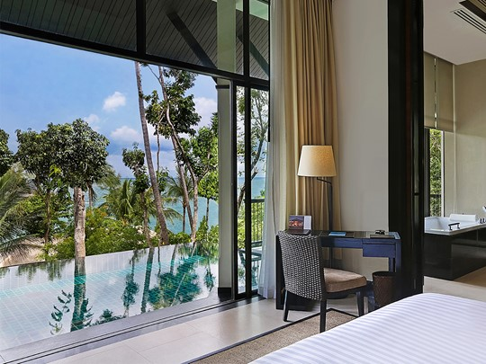 Partial Ocean View Pool Villa de l'hôtel Banyan Tree