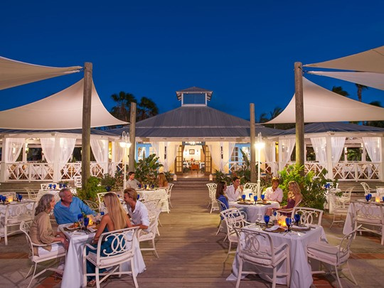 Le restaurant Schooners du Beaches Turks and Caicos