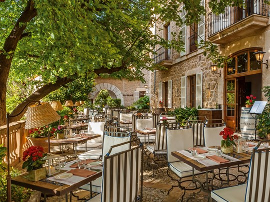 Le restaurant El Olivo