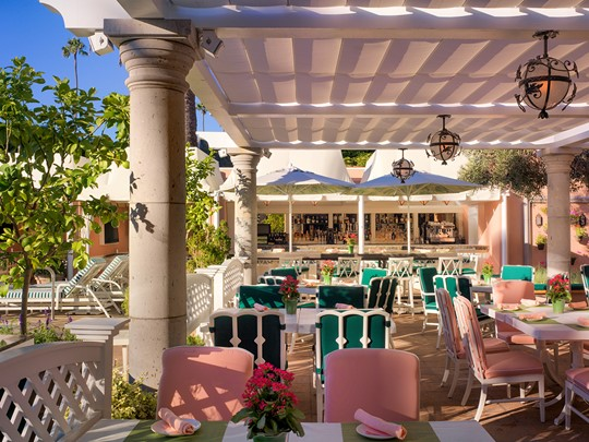 Le Cabana Cafe de l'hôtel Beverly Hills à Los Angeles