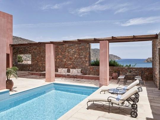 2 Bedroom Grand Villa Sea View Heated Pool