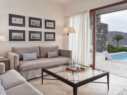 Mediterranean Maisonette Suite Private Pool Seaview