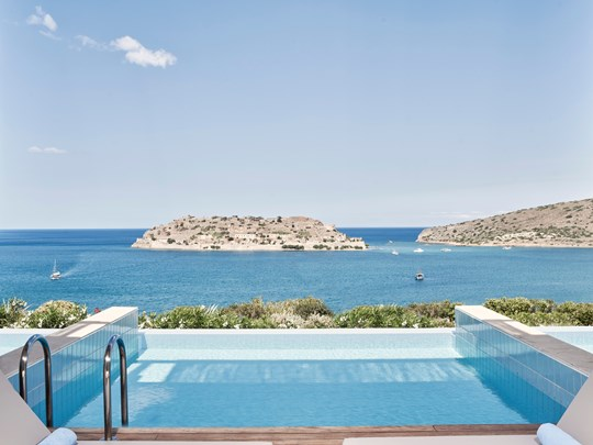 Superior Bungalow Private Heated Pool Seaview