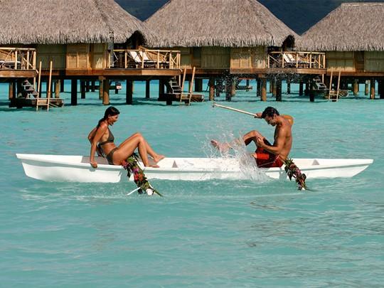 Activités nautiques au Bora Bora Pearl Beach Resort situé en Polynésie