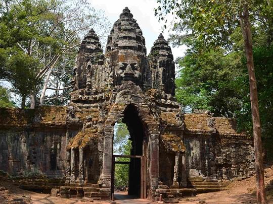 Visite des temples d'Angkor Thom