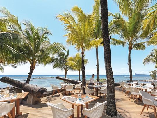 Splendide vue sur l'océan depuis le restaurant Le Navigator