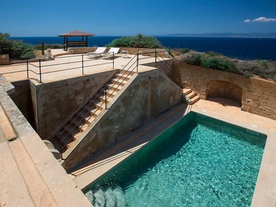 Piscine de l'El Cabo Suite de l'hôtel Cap Rocat