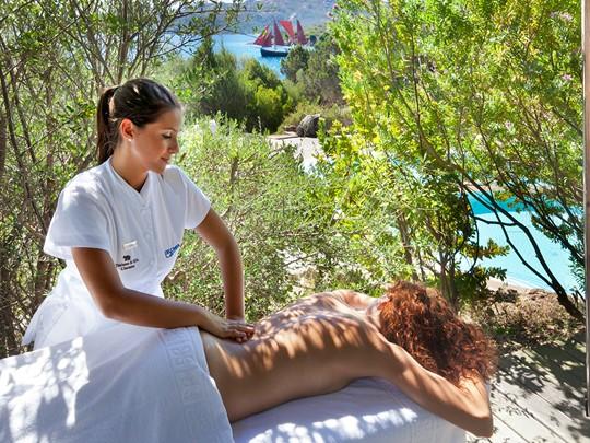 Profitez des somptueux soins du spa du Capo d'Orso