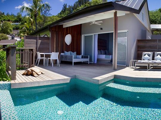 Oceanview Pool Chalet