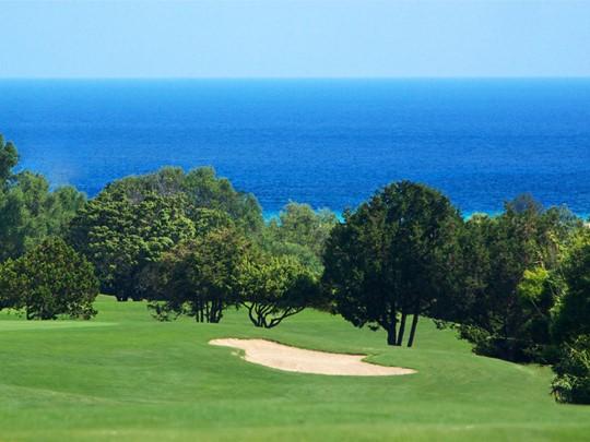 Golf de l'hôtel Cervo Costa Smeralda en Sargaigne