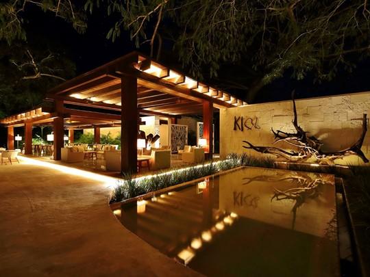 Le restaurant Ki'ol de l'hôtel Chable Resort & Spa