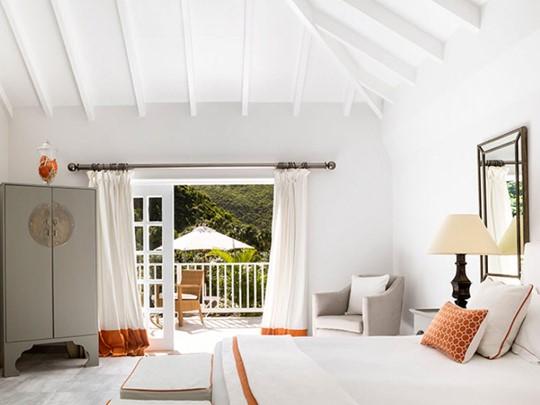 Garden room de l'hôtel Cheval Blanc à St-Barth