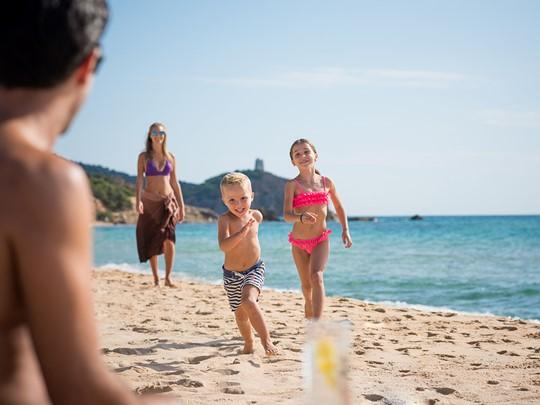 Profitez de la plage en famille