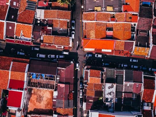 Malacca, aussi connue comme la Venise de l'Est