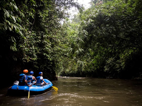 Descente de la rivière Ayung