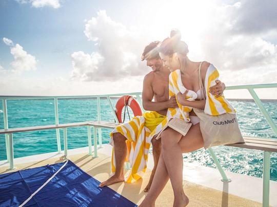 Balade sur les eaux turquoise des Caraïbes au Club Med