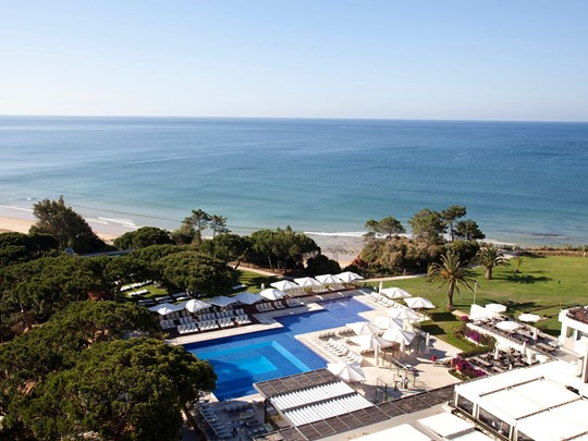 Vue du Club Med Da Balaia situé au sud du Portugal