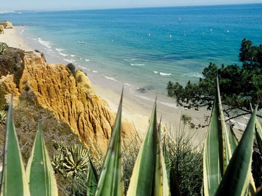 La magnifique plage de sable blond du Club Med Da Balaia