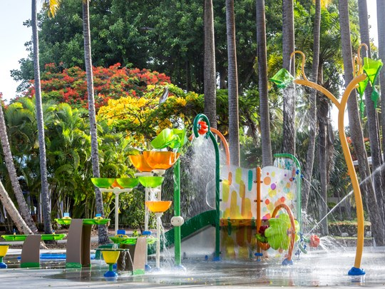 Le parc aquatique