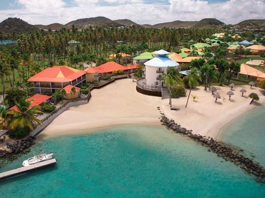 Vue aérienne du Med Les Boucanniers en Martinique