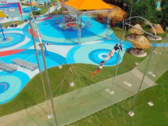 Trapèze au Club Med Punta Cana en République Dominicaine